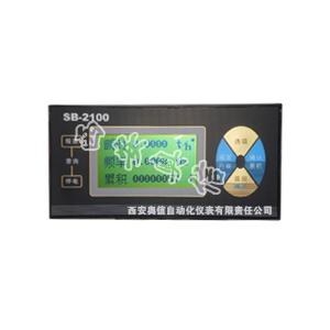 流量积算仪SB-2100W 弯管流量计专用流量积算仪SB-2100W