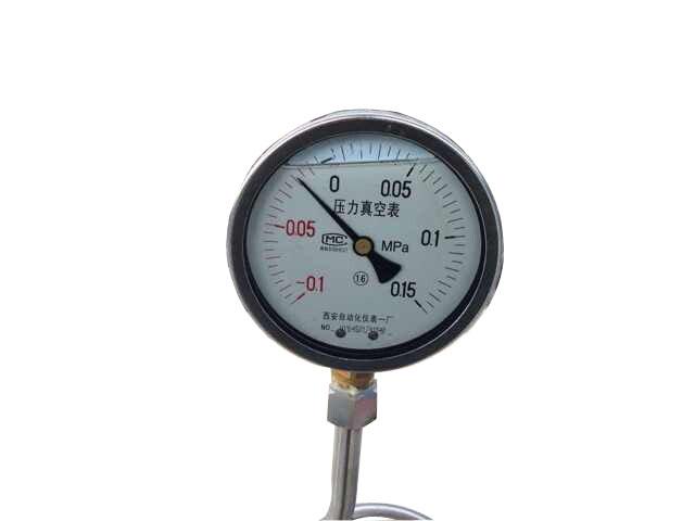 YZN-100耐震真空压力表