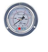 YTN-60ZT轴向耐震带前边压力表