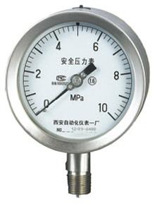YQHA-107全不锈钢压力表