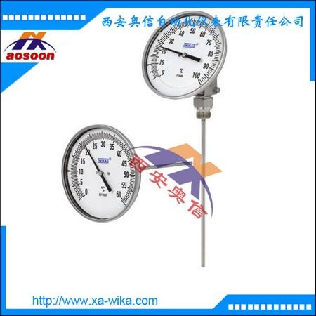 R52.40双金属温度计 德国WIKA进口温度计 A52轴向