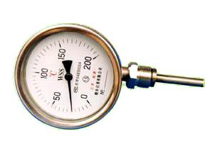 双金属温度计 WSS-401 WSS-411 WSS-301 WSS-511西安双金属温度计