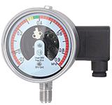 YX-100SF6 六氟化硫气体专用压力表