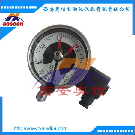 PGS23.100不锈钢电接点压力表 PGS23.160威卡电接点压力表 WIKA代