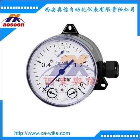 DPGS40.100差压表 微动开关 微型压力开关 德国WIKA代理