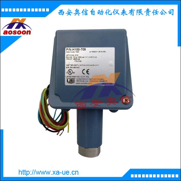 H100-704美国UE压力开关压力控制器美国UE重庆代理