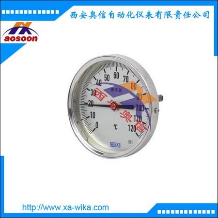 A52.100-4-C1K-ND威卡轴向双金属温度计 WIKA温度表