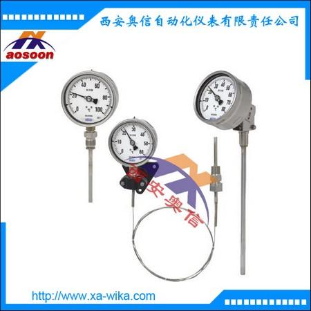 TGS73.100电接点气包式温度计 TGS73.160威卡其保湿温度表