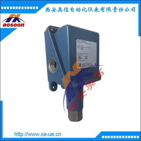 H100-610压力开关 5.2~68.9bar 不锈钢活塞式机械式压力控制器