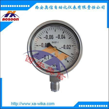 WIKA威卡 233.50.100不锈钢耐震压力表 233.50.063  威卡23..50.1