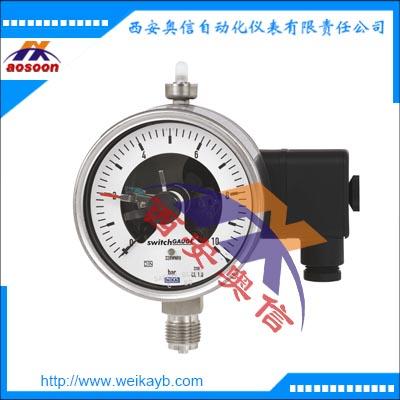 安徽WIKA代理 PGS23.100电接点压力开关 PGS23.100电接点压力表