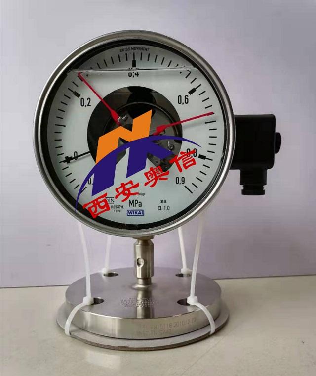 山东WIKA代理 PGS23.100隔膜电接点压力表 990.27电接点压力表 wi
