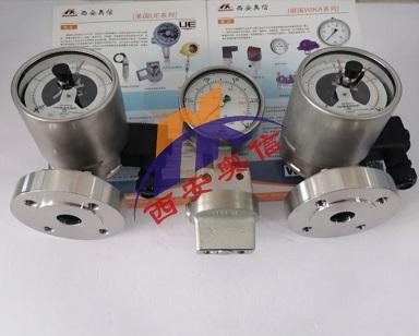 安徽wika耐酸压力表PGS43.100+990.27隔膜压力表   wikla膜片压力