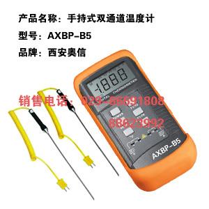 双通道温度计AXBP-B5 手持式双通道温度计AXBP-B5 便携式双通道温