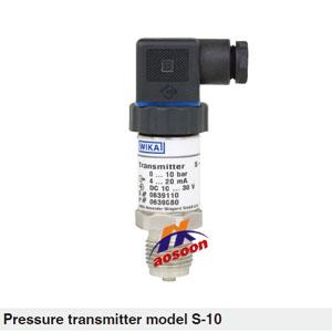 S-10压力变送器 WIKA压力变送器 德国WIKA变送器 WIKA变送器 西