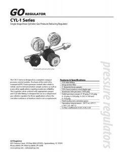 C1-2F11A3C10001 美国GO减压阀