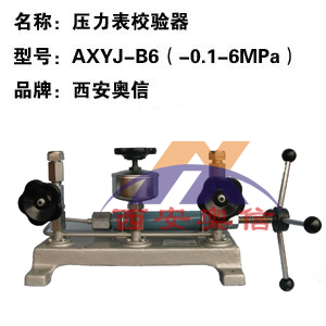 AXYJ-B6(271.01)压力校验器 真空压力校验台
