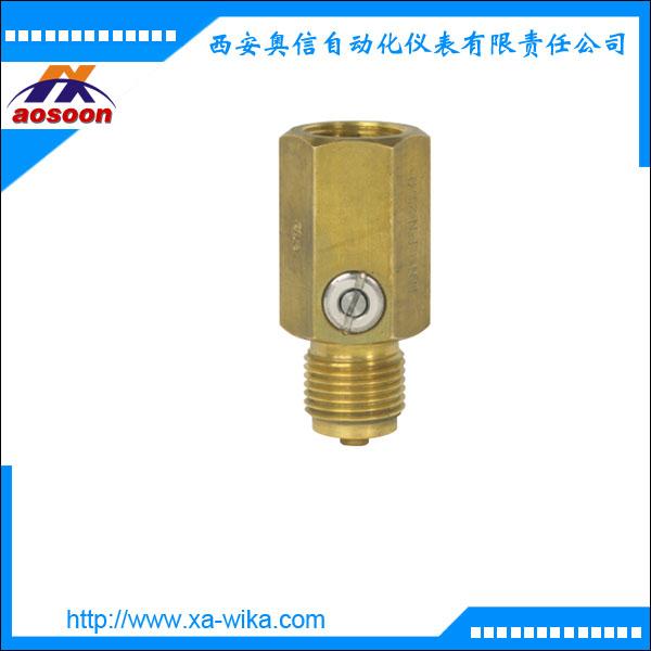 威卡压力阻尼装置910.12 德国wika 黄铜及不锈钢两种材质
