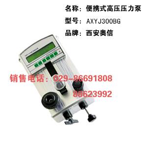 高压泵 AXYJ-3000B手持式高压泵 高压检验仪