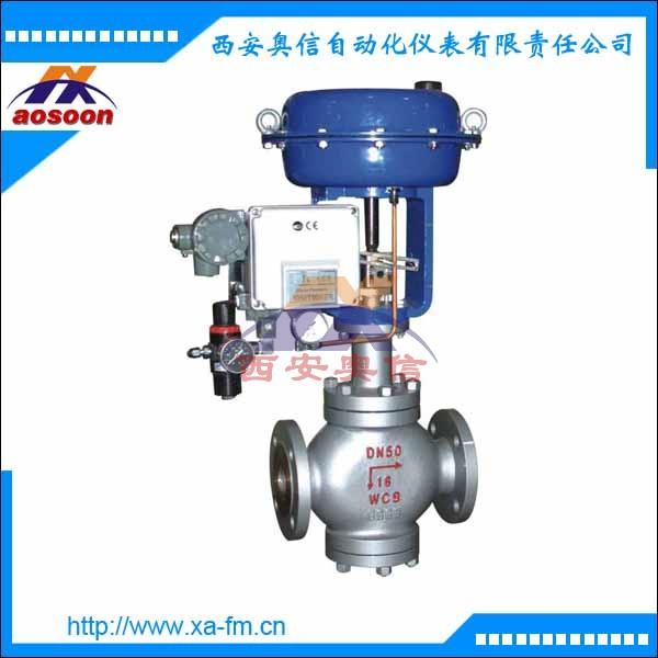ZMAQ气动薄膜三通合流调节阀 ZMAQ-16气动调节阀