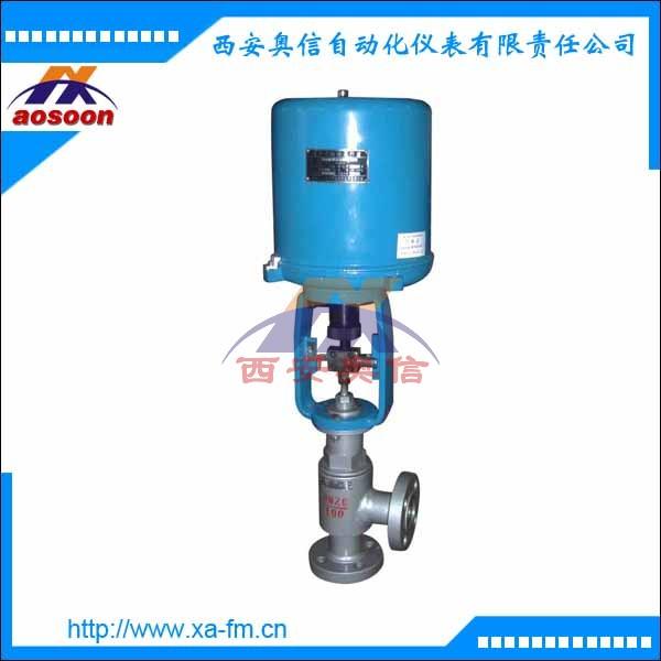 ZDLS-16P直角型电动调节阀 ZDLS电子式角形电动单座调节阀