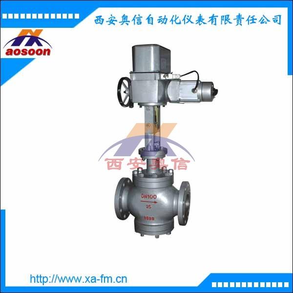 ZAZP-16电动调节阀 ZAZP-16C DN50电动直通单座调节阀