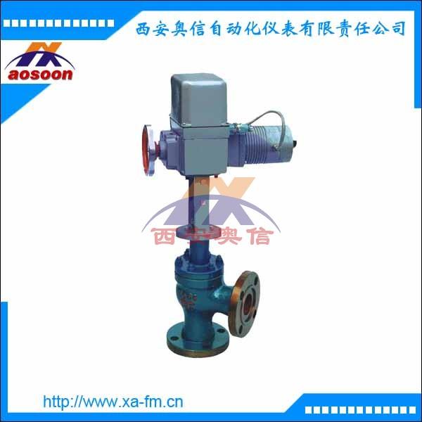 ZAZS 电动高压角型调节阀 ZAZS-16电动角型调节阀
