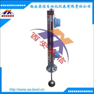 AXUHZ-3DAH4 顶装式磁性浮子液位计 顶装式磁性液位计