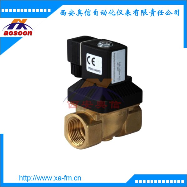 ZCA-1 螺纹电磁阀 黄铜阀体电磁阀