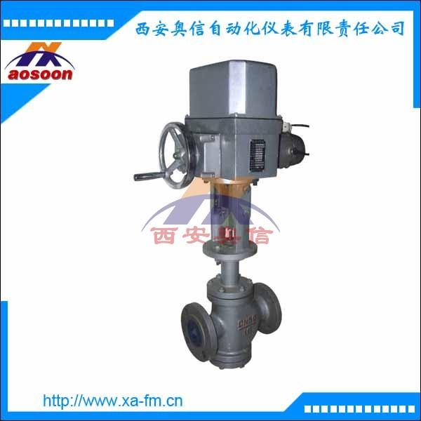 ZAZN-16 DN65 电动调节阀 电动双座调节阀