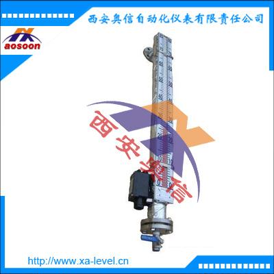 电伴热磁翻板液位计 UHZ-528伴热带磁翻板液位计