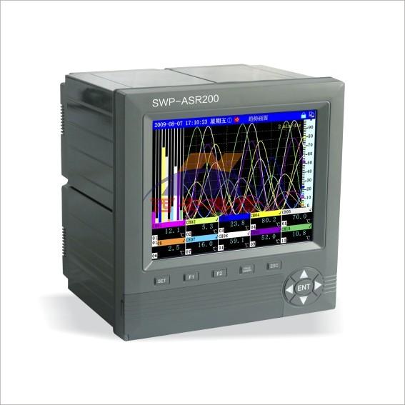 香港昌晖SWP-ASR200昌晖彩色无纸记录仪选型表及参数说明
