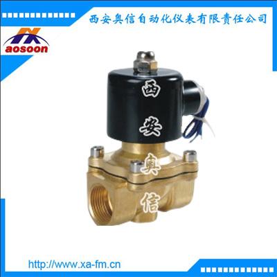 2W160-10 黄铜通用电磁阀 直动式电磁阀