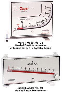 美国DWYERMarkII模制塑料压力计