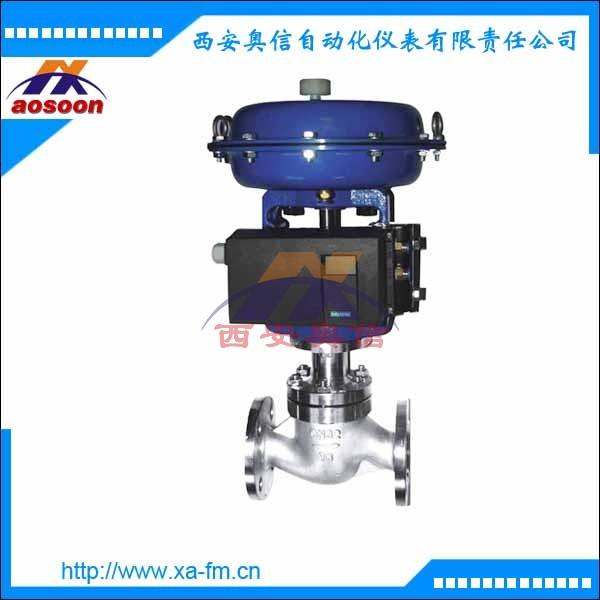 ZJHP-16气动调节阀参数 气动薄膜单座调节阀