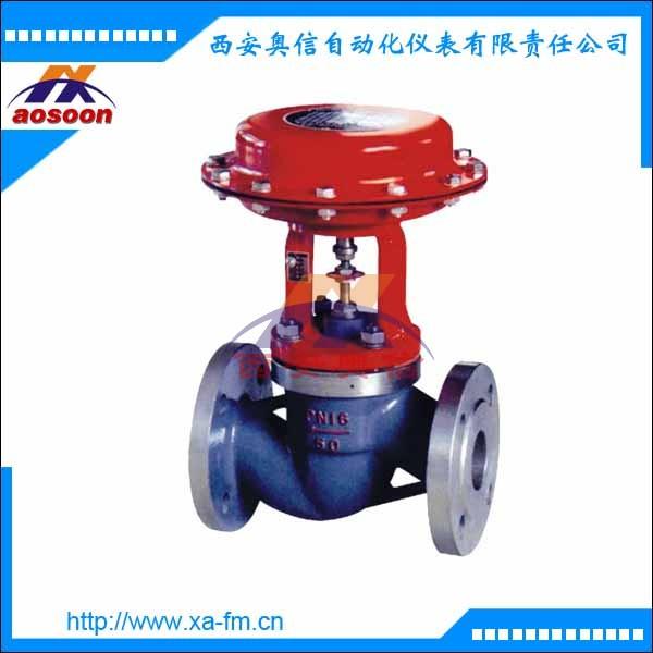 气动薄膜式切断阀ZMQP-16 气动薄膜式调节阀
