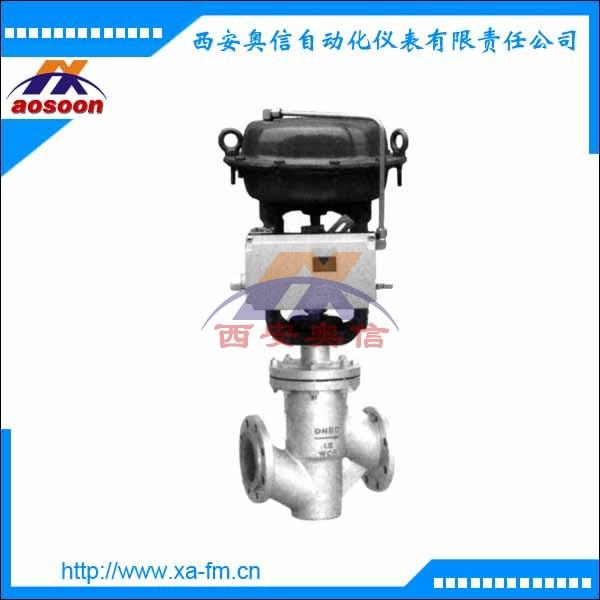 ZJHPF-16W气动薄膜波纹管衬氟调节阀 气动薄膜衬氟单座调节阀