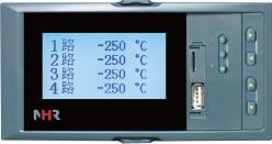 NHR-7400液晶四路PID调节器 智能多路PID调节仪