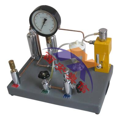 AXYJ-B400压力表氧气表两用校验器 氧气压力校验台