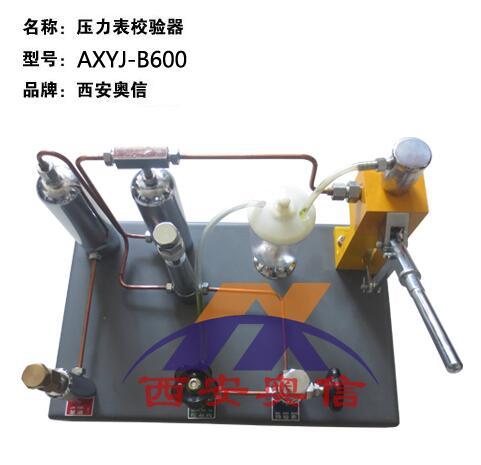 AXYJ-B600压力校验台 压力表氧气表两用校验器