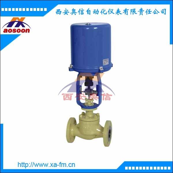 电子式电动套筒调节阀 ZDLM-16电动调节阀