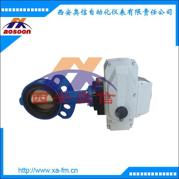 电动对夹蝶阀AXULI-20A-Q80-C 电动阀门