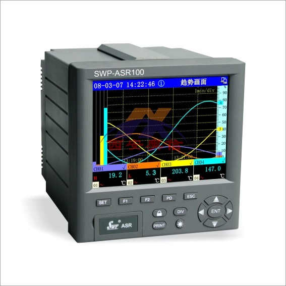 SWP-ASR100系列无纸记录仪 昌晖智能记录仪SWP-ASR103-1-0/C3