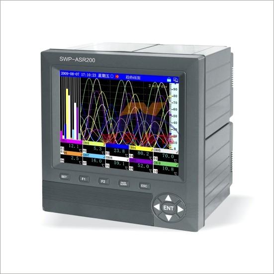 SWP-ASR200系列无纸记录仪 昌晖记录仪SWP-ASR224-3-0/JB22